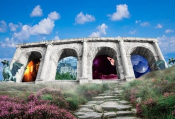 Arch of Different Worlds