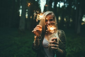 Sparklers Manifest Continuously